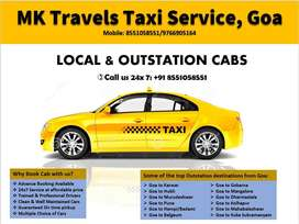 Affordable taxi Service available in Goa 24x7