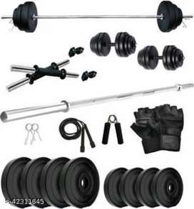 Gym dumbbells available