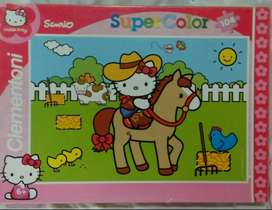 Hello Kitty Jigsaw puzzles (104 pieces) are available for sale