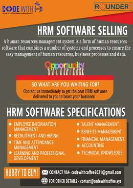 HRMS Software for Sale