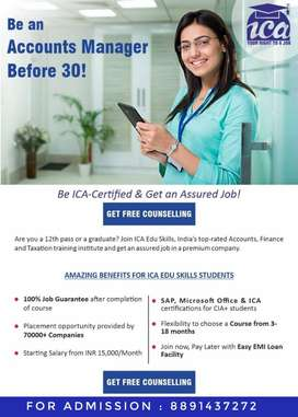 100% job gauranteed training program.