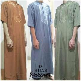 Jubah Ikhwan Al-Jadiid / Gamis Pria / Baju Koko Muslim Pria ID3