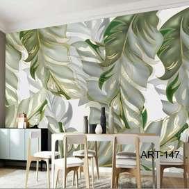 3D Custom Design Wallpaper Dinding
