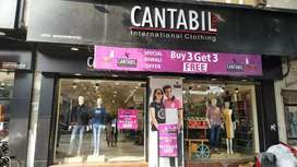 In cantabill Showroom rudrapur sales man required on company payroll