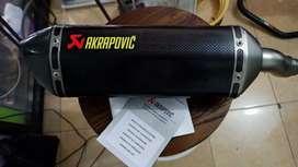 Akrapovic carbon fiber hexagonal imported for superbikes