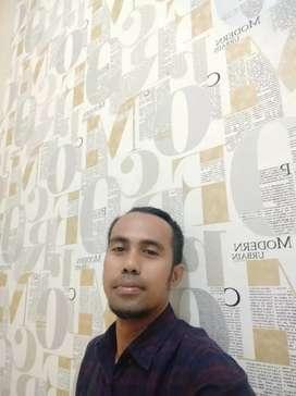 Wallpaper motif terbaru garansi 2 tahun
