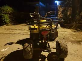 110 cc slightly used quad bike
