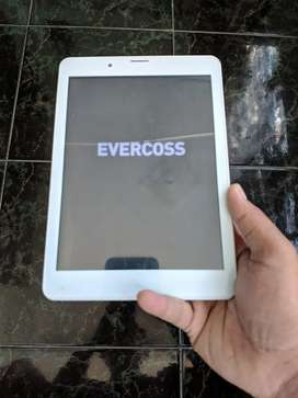 "Evercoss AT8B Tablet tab bekas android 8"" inch minus"