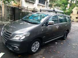 Well maintained innova car with all service records with lakozy Toyota