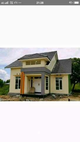 rumah murah cantik tpe 55 minimalis, bisa kpr/ cash disain suka suka