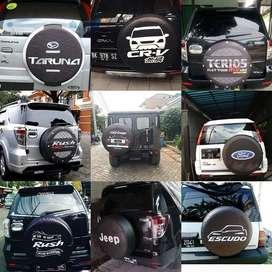 Sarung/Cover Ban jeep Touring-Hummer Daihatsu Terios rush vitara Nyent