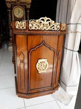 Mimbar masjid al raqib jati