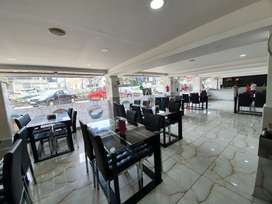 (Ready to Start) Airconditioned Restaurant with Kitchen for rent