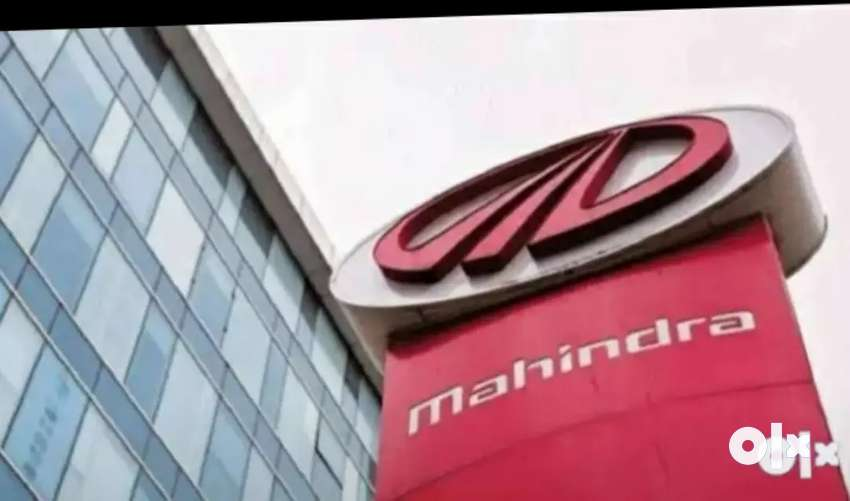Mahindra company urgent requirement female and male candidate