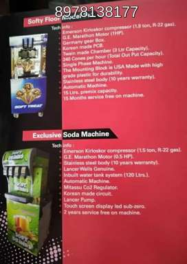 Fast track cool drinks soda fountain machine