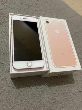 Jual Iphone 7 128gb rosepink mulus fullset