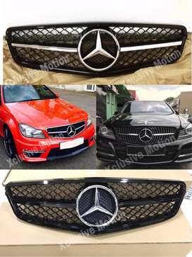 Benz C class W204 AMG grills