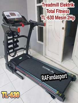 Treadmill Elektrik TL-630 Otomatis Incline