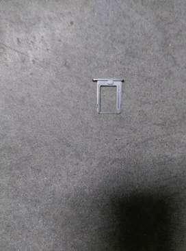 iPhone 4S Sim Card Tray Holder Slot - Silver -