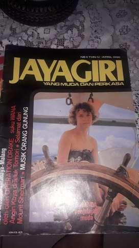 Majalah lama april 1980 jaya giri