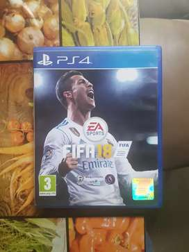 Fifa 18 for ps4 up for sale