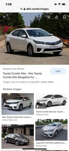 Toyota Corolla Altis 2014 Diesel Good Condition