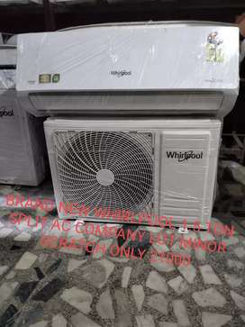 BRAND NEW WHIRLPOOL 1.5 TON SPLIT AC COMPANY LOT  ONLY 21000