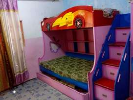 Kids triple bed good condition
