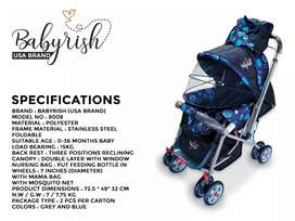 Prams and slide imported baby stroller