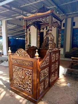 mimbar masjid kekinian
