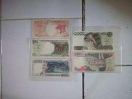 Uang kertaslama satu set mini lengkao th 1992
