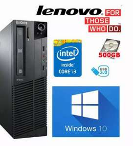 Lenovo Branded CPU / Like NEW Type Condition / 1 Year Warranty