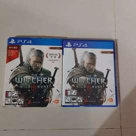 KASET PS4 BEKAS THE WITCHER WILD HUNT REGION 3