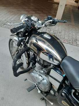 Wanna sell this 500cc chrome bullet