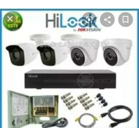 Paket murah CCTV 8 hilook channel 2 mp