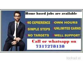 No qualification only internet knowledge is required forjob