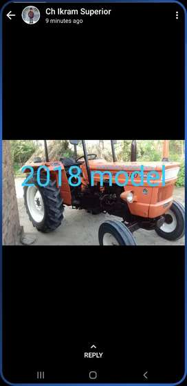 Tractor for sale 2018 model
