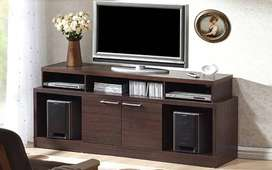 TV Stand With Wooden Finish