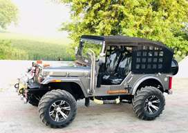 Modified Willy's jeeps