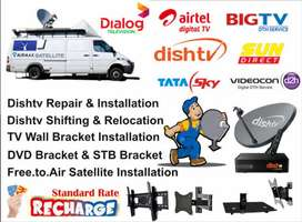 Dish service and installation
