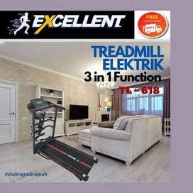 treadmill elektrik TL-618 alat olahraga lari