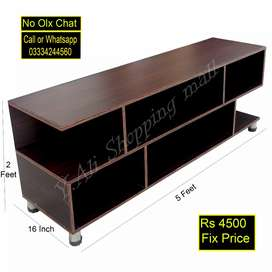 "Wooden sheet led tv table for 32"" to 60"" led"