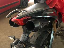 Benelli 600 iand 300 exhaust in excllent condition