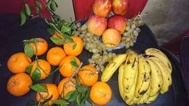 Fresh peeled chopped grated vegetables and fruits delivery service.