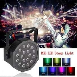 Lampu Panggung Par Light 18 LED Lampu Disco