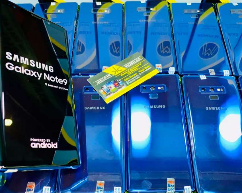 Samsung Galaxy Note 9 , S9 , S9 Plus & S8 Fresh Lcd And Minor Spot