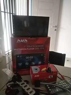 DD DVD player TV bonus kamera mundur antena TV bisa liat YOUTUBE