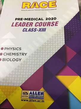 Allen  guide neet medical entrance race  material,daily practice.