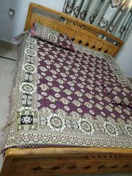 Bed for sell 6. by 6.5 without mattress
