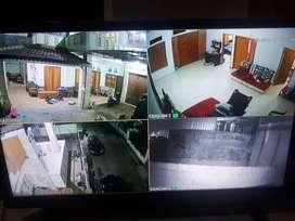 KAMERA 4 Chanel Camera 2MP CCTV bergaransi terpercaya